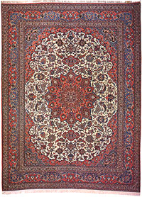 Curvilinear And Floral Designs Most Elements In Persian Rugs